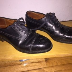 Polo Ralph Lauren Leather Wing Tips, Made in ENG